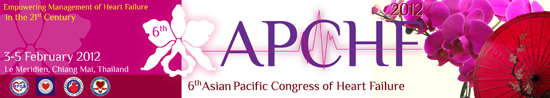 Asian Pacific Congress of Heart Failure (APCHF) 2012