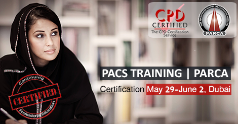 PARCA Certification  CPD PACS Training Dubai