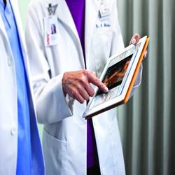 Carestream Vue Motion – Carestream's Vue Motion image viewer expedites clinicians' access to patient data and images by making information available on mobile devices including Apple iPads.