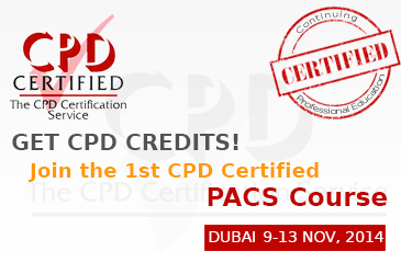 PACS Administration Seminar  Workshop Dubai 6-10 April 2014