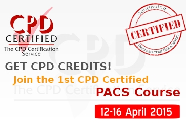 PACS Certification & CPD (Continuing Professional Development) Credits April, 2015