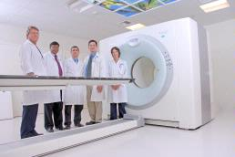 PET/CT medical imaging scanner